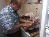 حبس مدير مطعم مشويات بعد ضبط لحوم غير صالحة للاستخدام الآدمى بدمياط