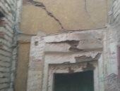 تصدع منزل بالمنيرة الغربية  ..وحى شمال الجيزة يخلى العقار من السكان