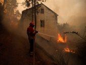 بالصور.. النيران تلتهم مئات الهكتارات من الغابات فى البرتغال