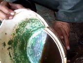 بالفيديو.. قارئ يرصد تلوث مياه الشرب فى كفر الطرابنة بالمنوفية