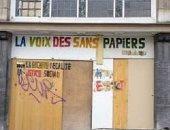 أعضاء جمعية مهاجرين ببلجيكا يحتلون مبنى مهجور..والعمدة يهدد باستخدام القوة