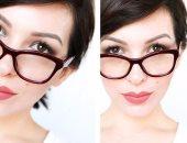 10 خطوات للحصول على مكياج عيون مناسب يبرز جمالك مع النظارات