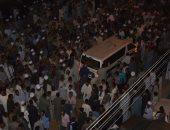 بالصور.. المئات يشيعون جثمان النائب هرقل وفقى فى مسقط رأسه بمدينة جرجا
