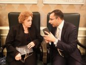 جيهان السادات: أحببت فرح ديبا لأنها تشبهنى والسادات استضاف الشاه لأنه رجل مبادئ