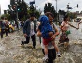 مصرع 13 شخصا جراء انهيار منزل بسبب الأمطار الغزيرة فى نيجيريا