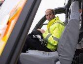 الأمير وليام يتم عمله كقائد طائرة إسعاف ويتفرغ لدوره فى القصر الملكى