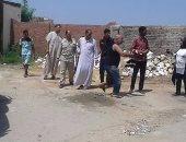 """رئيس """"نفيشة"""": إزالة التعديات على أرض الدولة بنطاق القرية بالإسماعيلية"""