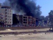 بالصور.. حتى لا ننسى جرائم جماعة الإرهاب بالأقصر.. أشعلوا النيران بالفنادق والمحلات