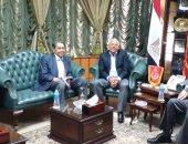 بالصور.. محافظ بورسعيد يستقبل رئيس مصلحة الجمارك
