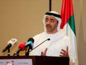 وزير خارجية الإمارات يلتقى رئيس السنغال.. ويفتتح مقر سفارة بلاده فى داكار