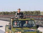 """لأول مرة منذ تأسيس جيش التحرير.. الرئيس الصينى يستعرض القوات ميدانيا بالزى العسكرى.. عرض صواريخ جديدة لاعتراض جميع أنواع الأهداف الجوية والبحرية.. وهدف """"شى"""" هو إظهار القدرة على الردع والقتال والفوز بالمعارك"""
