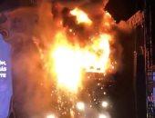 مصرع طفل وإصابة 3 آخرين فى حريق منزل بالسنبلاوين