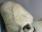 شاهد.. جمجمة عمرها 2000 سنة تكشف كيف يجهزون الأطفال للحرب فى أوكرانيا