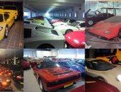 صور نادرة تستعرض 5 آلاف سيارة فاخرة امتلكها سلطان بروناى