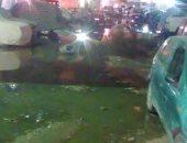 شكوى من طفح المجارى فى شارع على إبراهيم بالعمرانية