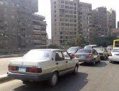 فيديو.. كثافات مرورية بطريق كورنيش النيل أمام ماسبيرو