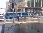 """استجابة ل""""اليوم السابع""""..""""مياه القاهرة"""" تغلق مصدر المياه بمحور صلاح سالم"""