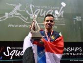 مروان طارق يتأهل لنهائى بطولة العالم للإسكواش للشباب فى الهند