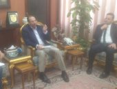 نائب وزير الإسكان يصل الدقهلية لمناقشة تطوير العشوائيات