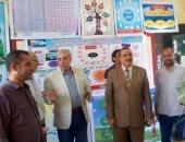 بالصور ..افتتاح معرض للأنشطة الطلابية  فى إحتفالات العيدالقومى بالقليوبية