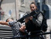 قوات الاحتلال تعتقل 14 فلسطينيا فى مدينة القدس