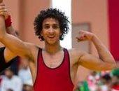 حسن حسن يتأهل لنصف نهائى بطولة العالم للمصارعة