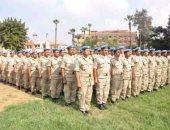 مجموعة من قوات حفظ السلام الصينية تغادر لجنوب السودان فى مهمة لمدة عام