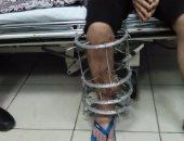 بالصور.. مأساة شاب بالإسكندرية باع ممتلكاته لعلاج عاهة بسبب حادث سيارة