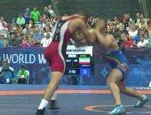 حسن حسن يحتل المركز الخامس فى بطولة العالم للمصارعة بالمجر