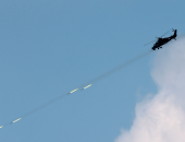 التحالف العربى يستهدف منصة إطلاق صواريخ للحوثيين فى صنعاء