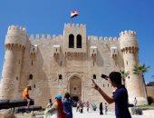 """""""الآثار الإسلامية"""": 5500 زائر لقلعة قايتباى فى ثالث أيام العيد"""