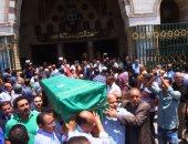 بالصور.. مصر تودع المفكر على السمان من مسجد السيدة نفيسة