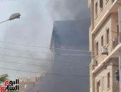 النيابة تطلب التحريات وتقرير المعمل الجنائى حول حريق شقة فى أطفيح