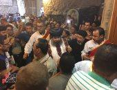 """بدء احتفالات """"صوم العذراء"""" بدير درنكة فى أسيوط.. ومنع إقامة الخيام خارج الدير"""