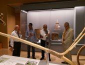 بالصور.. وزير الكهرباء السابق يزور متحف الحضارة بالفسطاط