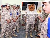 معارضة قطر تنشر فيديوجراف لتمرد بالجيش رفضا لسياسات تنظيم الحمدين