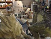 رغم الكاميرات.. سرقة رؤوس تماثيل الديناصورات من المتحف الوطنى فى أستراليا