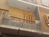 بالصور.. استغاثة لإنقاذ منزل آيل للسقوط بشارع الطوخى فى المنيا