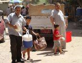 شكوى من انقطاع المياه من السابعة صباحا بشارع 6 أكتوبر فى العمرانية