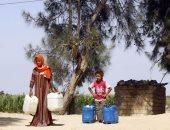 قارئ يشكو انقطاع المياه أكثر من 17 ساعة يوميا بقرية فى الشرقية