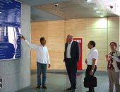 بالصور.. وفد من وزارة الاستثمار والتعاون الدولى يزور متحف الحضارة بالفسطاط