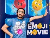 """بالصور.. أحمد حلمى يحتفل بالعرض الأول لفيلمه الجديد """"الإيموجيز"""""""
