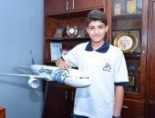 """""""مصر للطيران"""" ترعى ناشئ الأهلى بطل العالم للاسكواش تحت 13 سنة"""
