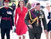بالصور.. ملك الأردن يشارك فى تخريج ولى العهد من أكاديمية عسكرية بريطانية