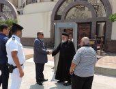 مدير أمن بورسعيد يتفقد عددا من كنائس المحافظة