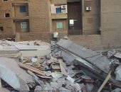 محافظ الإسكندرية يرفع درجة الاستعداد لأى تداعيات لعقارى الجمرك المنهارين