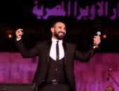 أحمد سعد يسجل أغنيتين من ألبومه الجديد