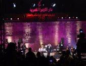"""بالصور.. أحمد سعد يبدأ حفل محكى القلعة بأغنية """"بحبك يا صاحبى"""""""