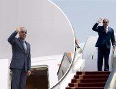 الرئيس السيسى يغادر القاهرة متوجها إلى الإمارات فى زيارة رسمية