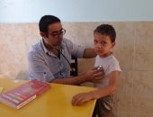 جامعة المنوفية تنظم قافلة طبية بالمجان لأهالى مركز تلا